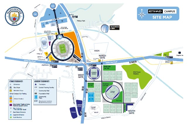 Etihad-Campus-Site-map